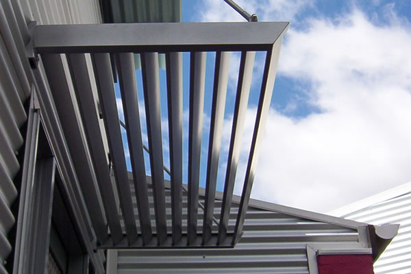 architectural metal fabrication including signs screens