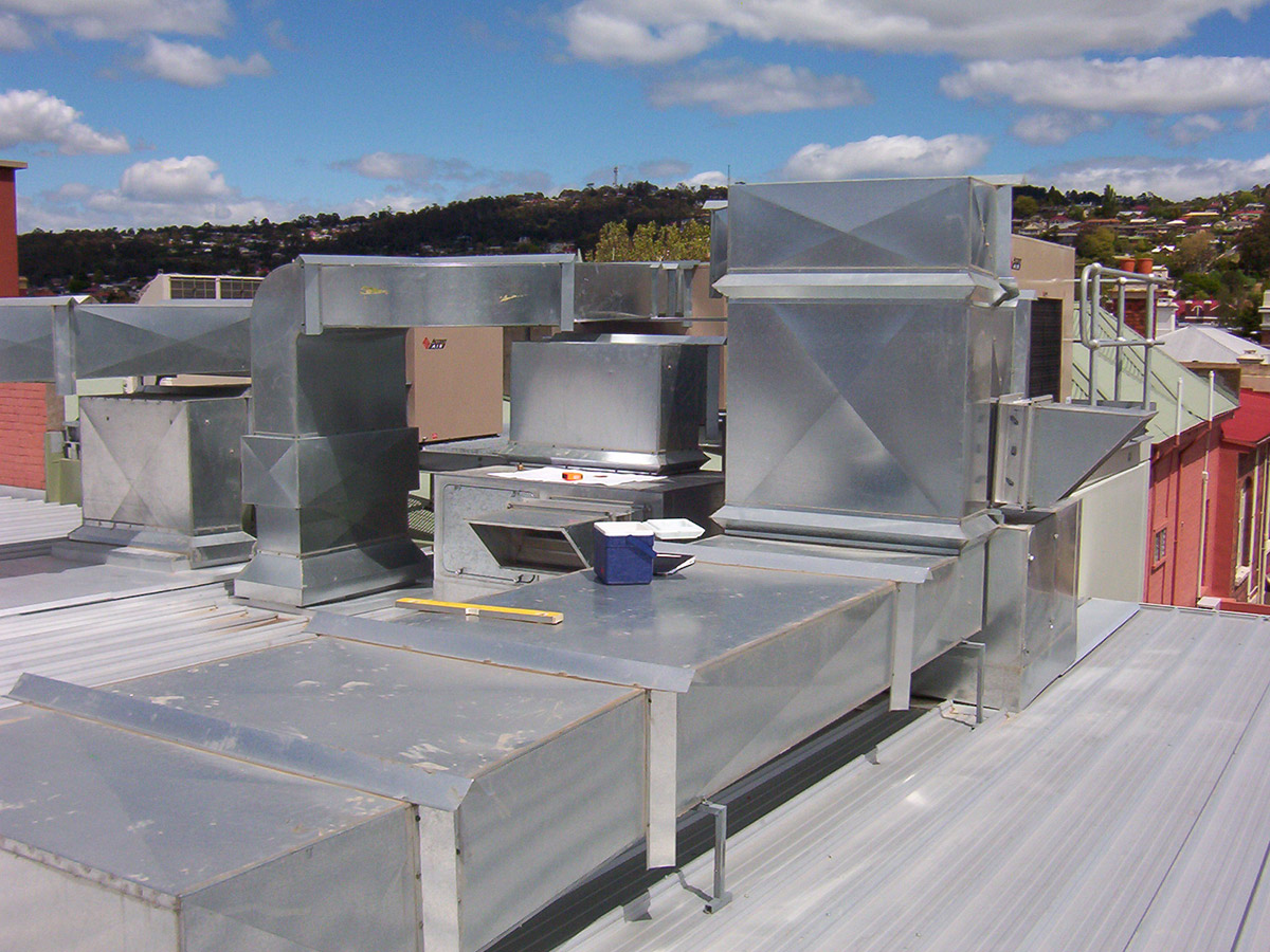 Rooftop Units Duct : Ductwork weatherfoil pty ltd